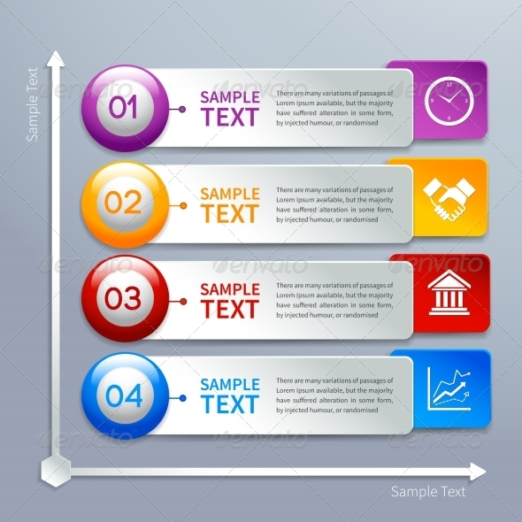 GraphicRiver Paper Infographics Template 7302864