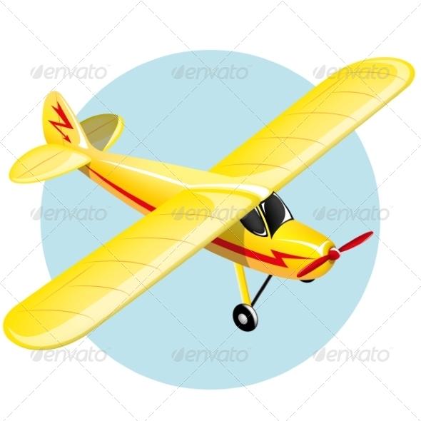 GraphicRiver Vintage Plane 7302885