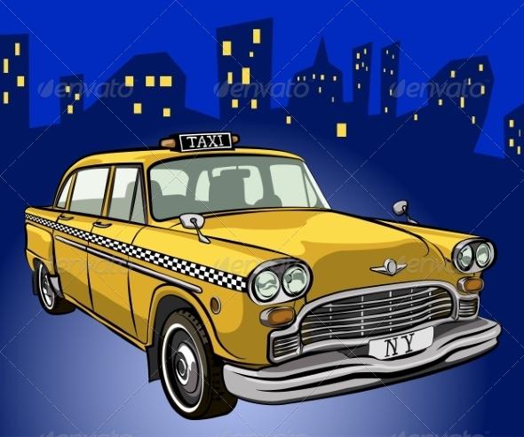 GraphicRiver Taxi Cab 7303043