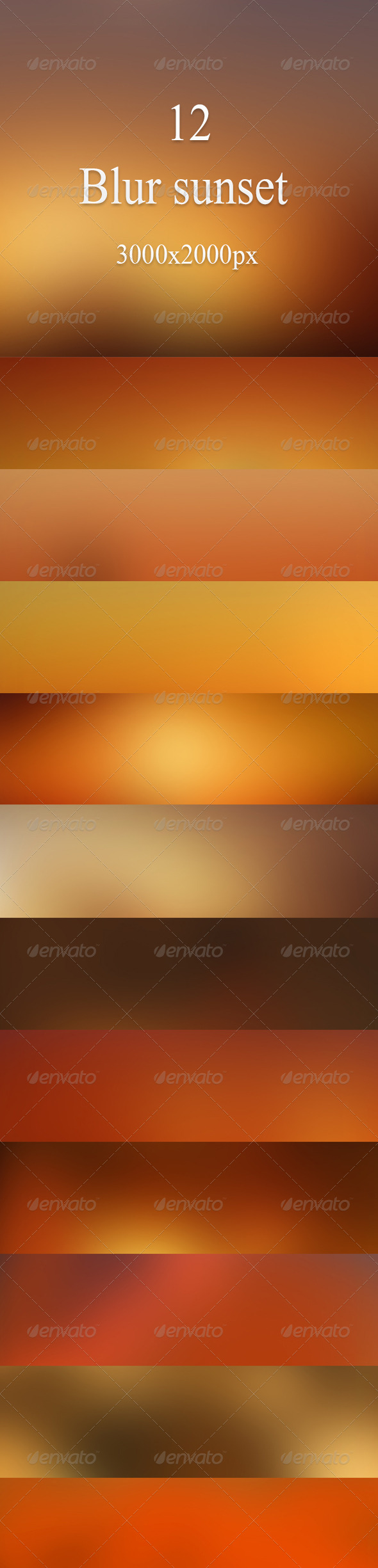 GraphicRiver Blur sunset 7303338