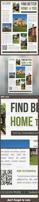 GraphicRiver Real Estate Corporate Flyer 09 7303407