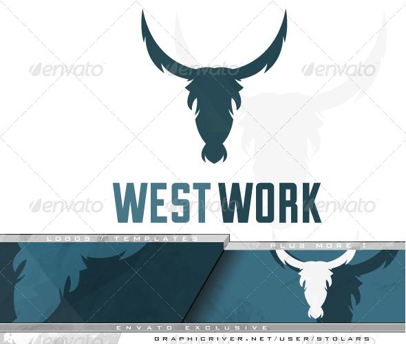 GraphicRiver Bull Horns Logo 7169260