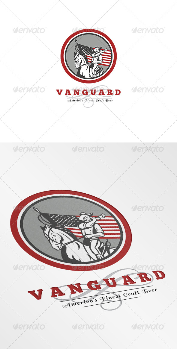 GraphicRiver Vanguard Americas Finest Craft Beer Logo 7305698