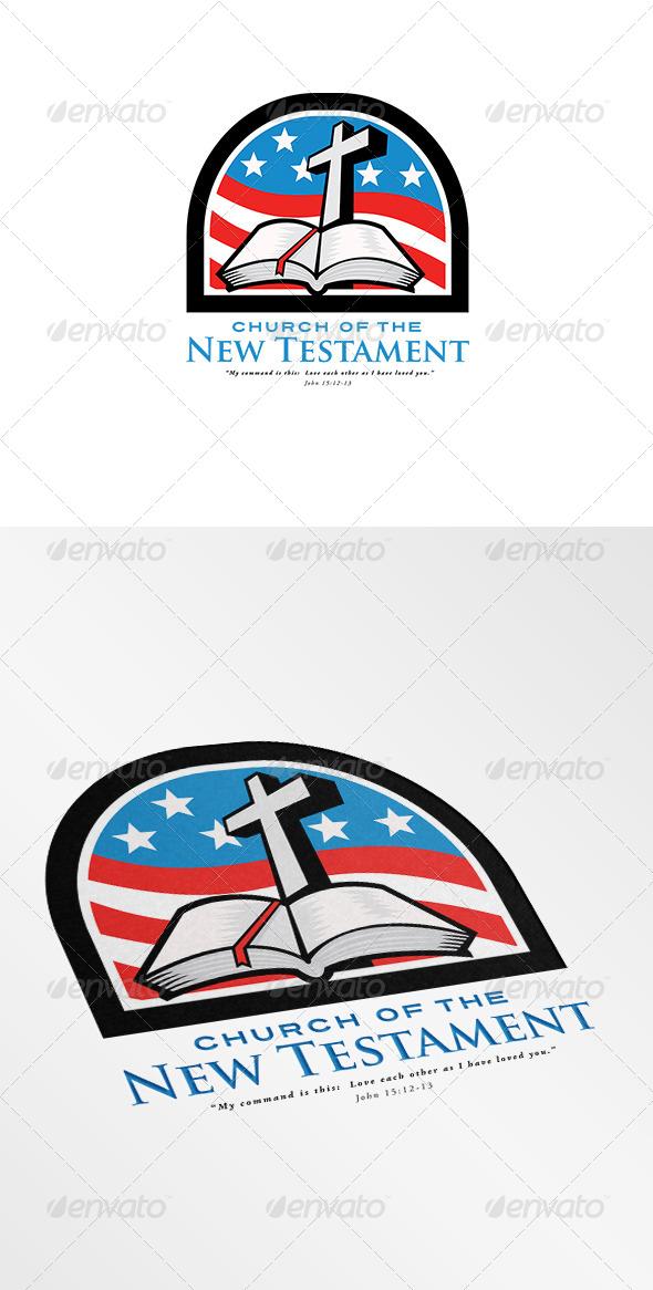 GraphicRiver Church of the New Testament Logo 7305718