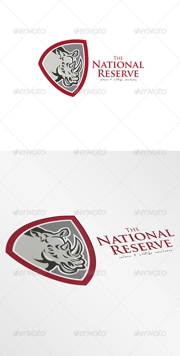 GraphicRiver The National Reserve Nature Sanctuary Logo 7305736