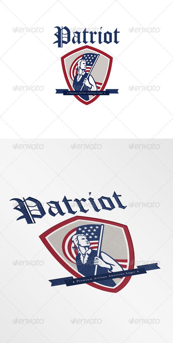GraphicRiver Patriot Premium American Lager Logo 7305782