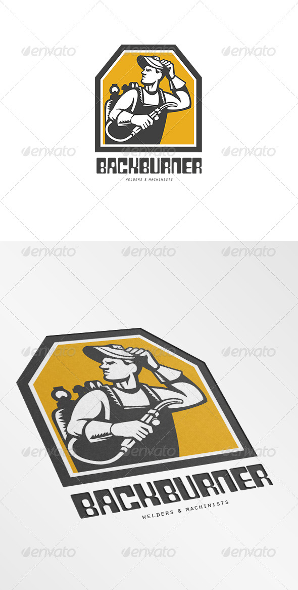 GraphicRiver Backburner Welders Logo 7305907