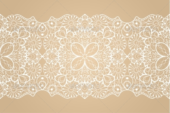 GraphicRiver Seamless Lace Ribbon 7305928
