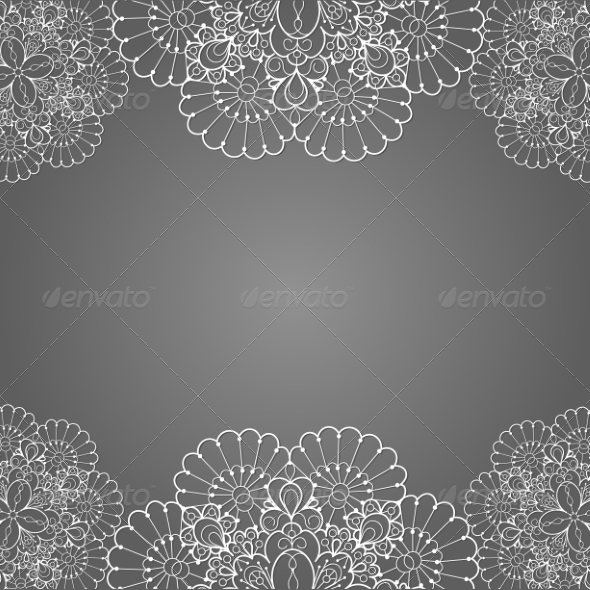 GraphicRiver Lace Background 7305941