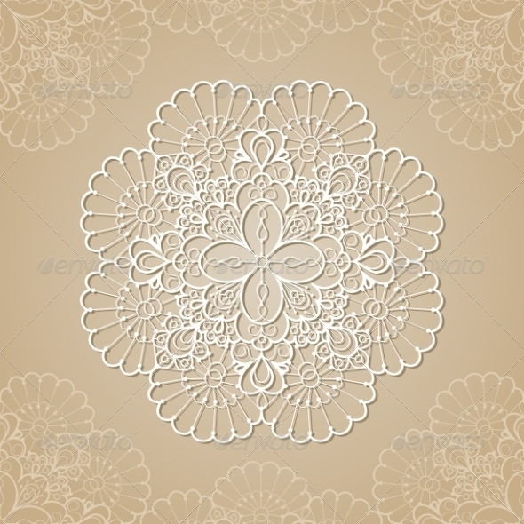 GraphicRiver Lace Background 7305946