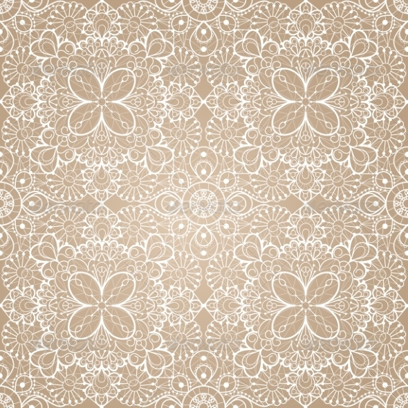 GraphicRiver Seamless Lace Background 7305949