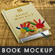 Photo realistic Book Mock-up - V:01 - GraphicRiver Item for Sale