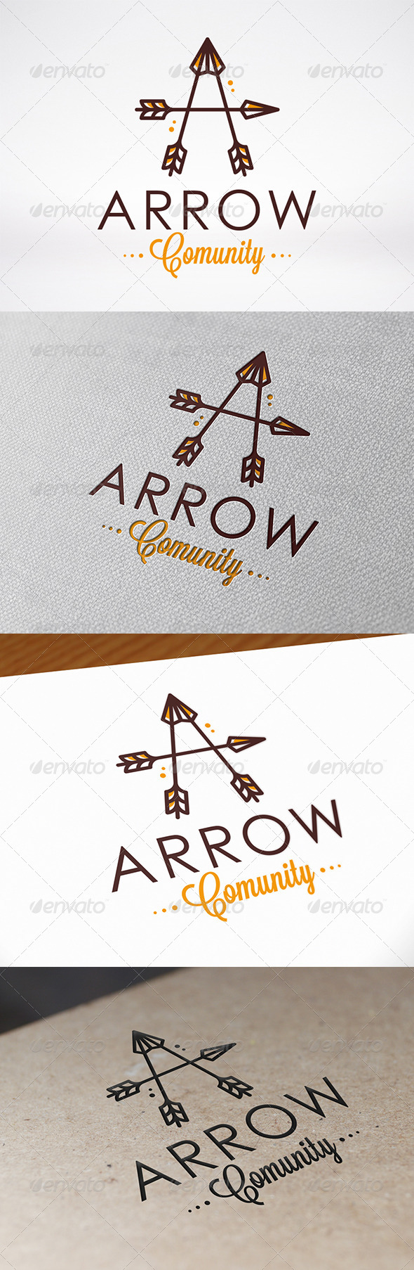 GraphicRiver Arrow Letter A Logo Template 7308619