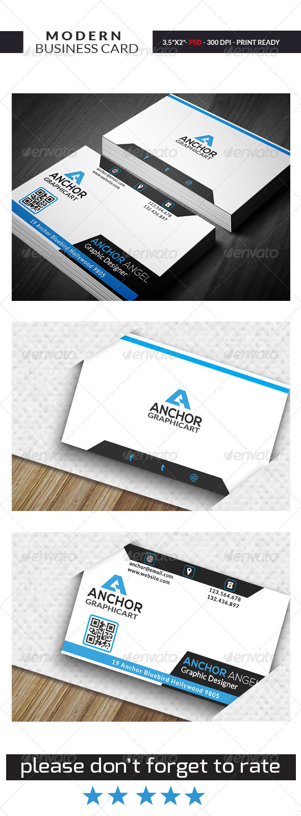 GraphicRiver Modern Business Card 07 7308750
