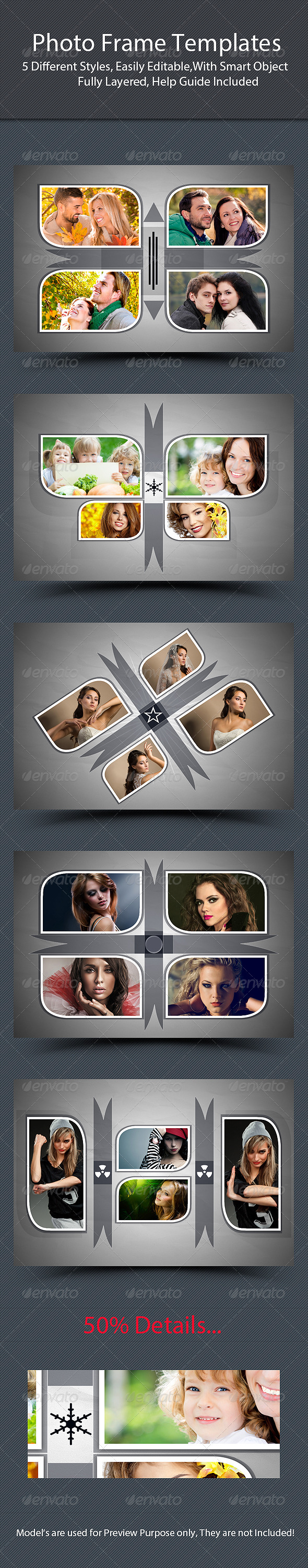 GraphicRiver Photo Frame Templates 7309180