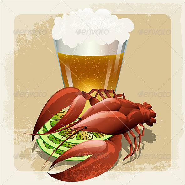 GraphicRiver Seafood 7309359