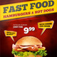 Fast Food Menu Flyer - GraphicRiver Item for Sale