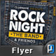 Rock Night Flyer Template - GraphicRiver Item for Sale