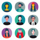 Flat Cool Avatars Set - GraphicRiver Item for Sale