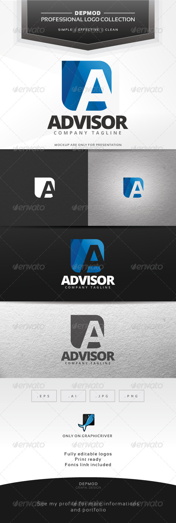 GraphicRiver Advisor Logo 7310609