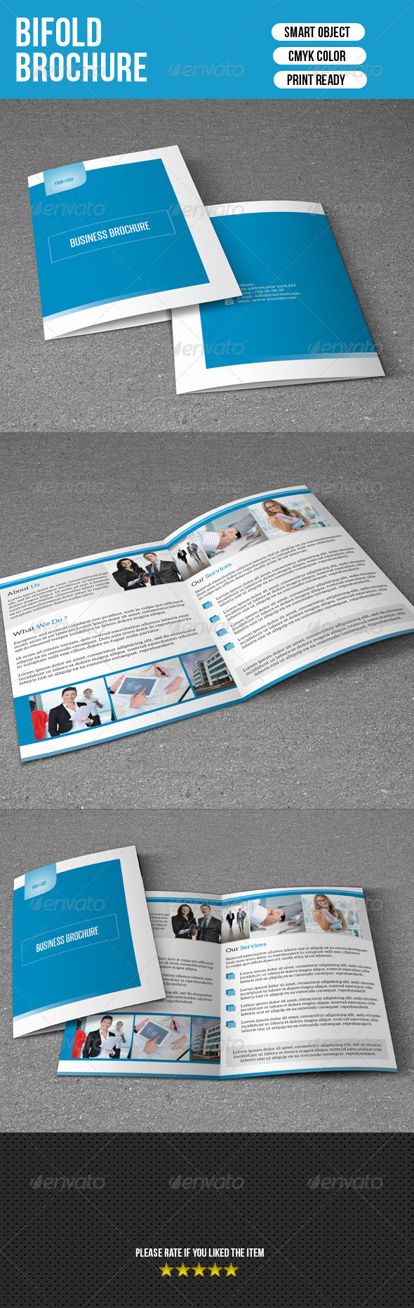 GraphicRiver Bifold Brochure-Business 7310753