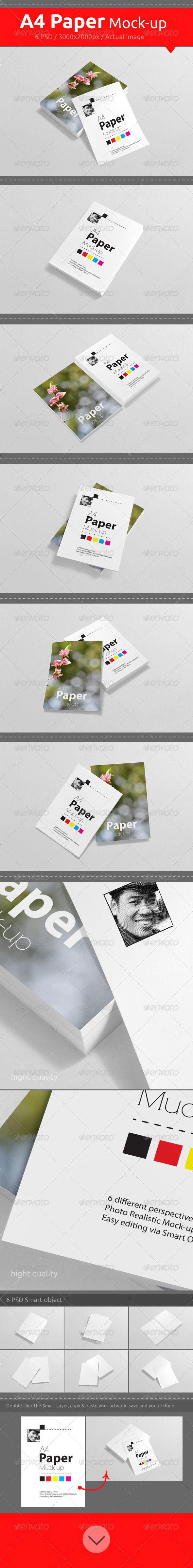 GraphicRiver Letter Mock-Up 7291491