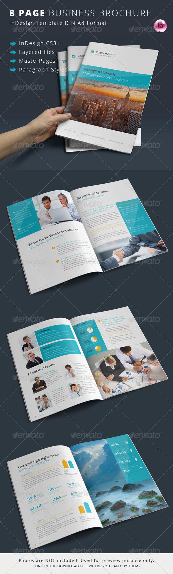 GraphicRiver 8 Page Corporate Brochure 7311050