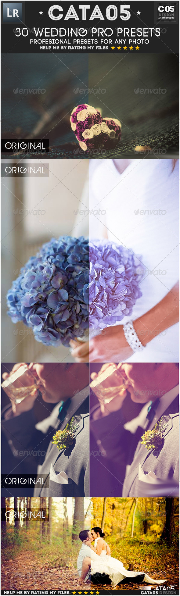 GraphicRiver 30 Wedding Pro Presets 7311064