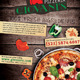 Pizzeria/Italian Restaurant Ad Flyer Template - GraphicRiver Item for Sale