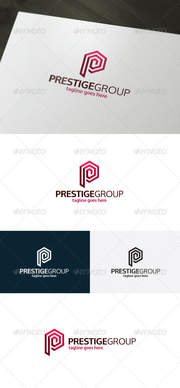 GraphicRiver Prestige Group Logo Letter P 7311250