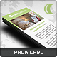 Luna Rack Card - GraphicRiver Item for Sale