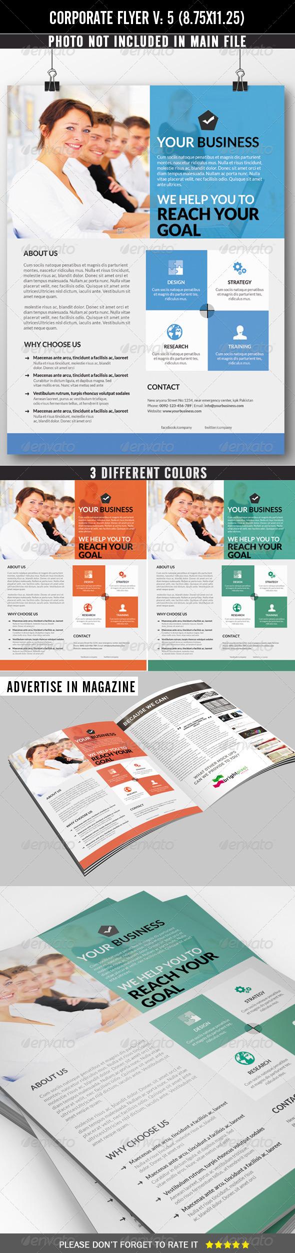 GraphicRiver Corporate Flyer 7301388