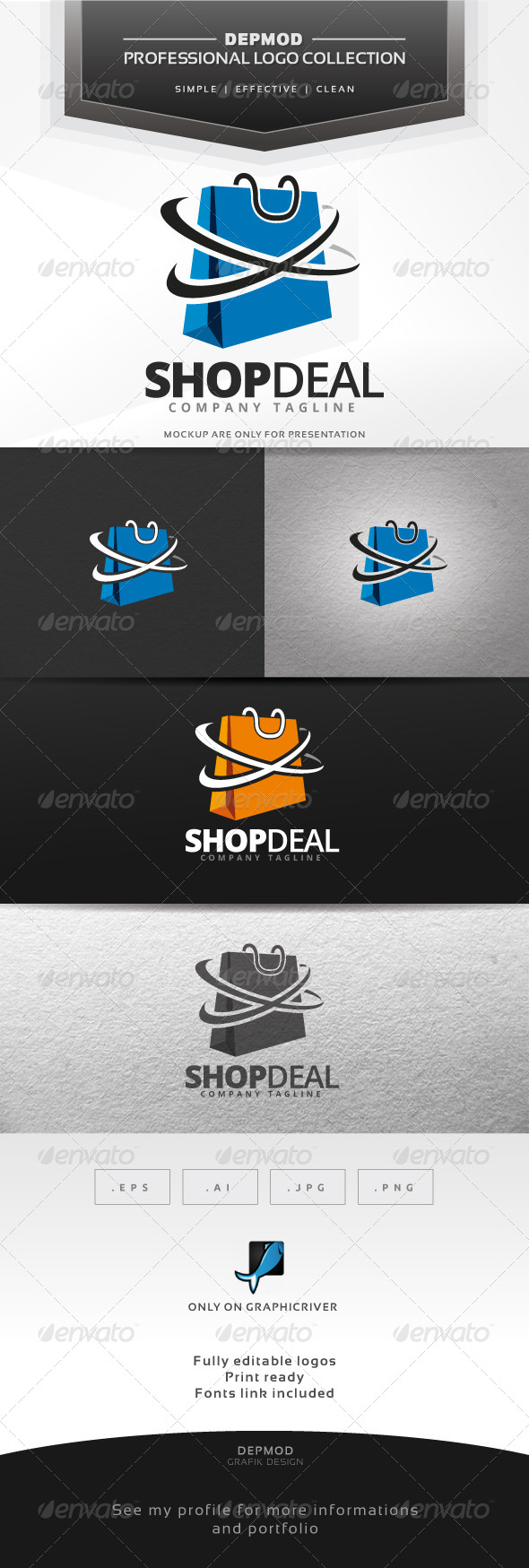 GraphicRiver Shop Deal Logo 7312479