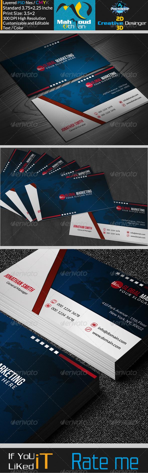 GraphicRiver Corportae Business Card V09 7312909