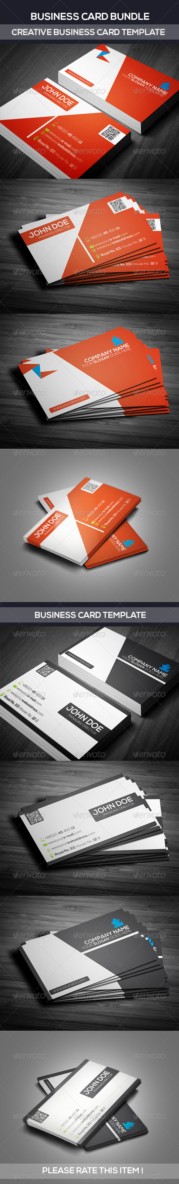 GraphicRiver Business Card Bundle 7312991