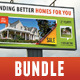 4 in 1 Real Estate Banner Bundle 03 - GraphicRiver Item for Sale