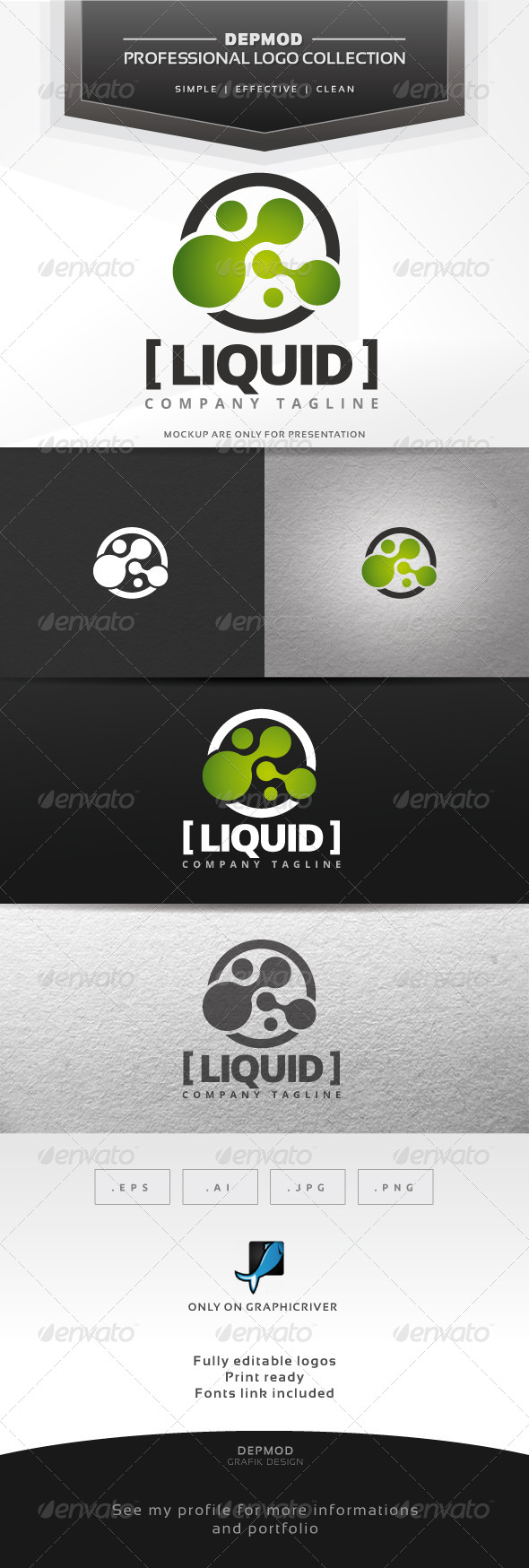GraphicRiver Liquid Logo 7313183
