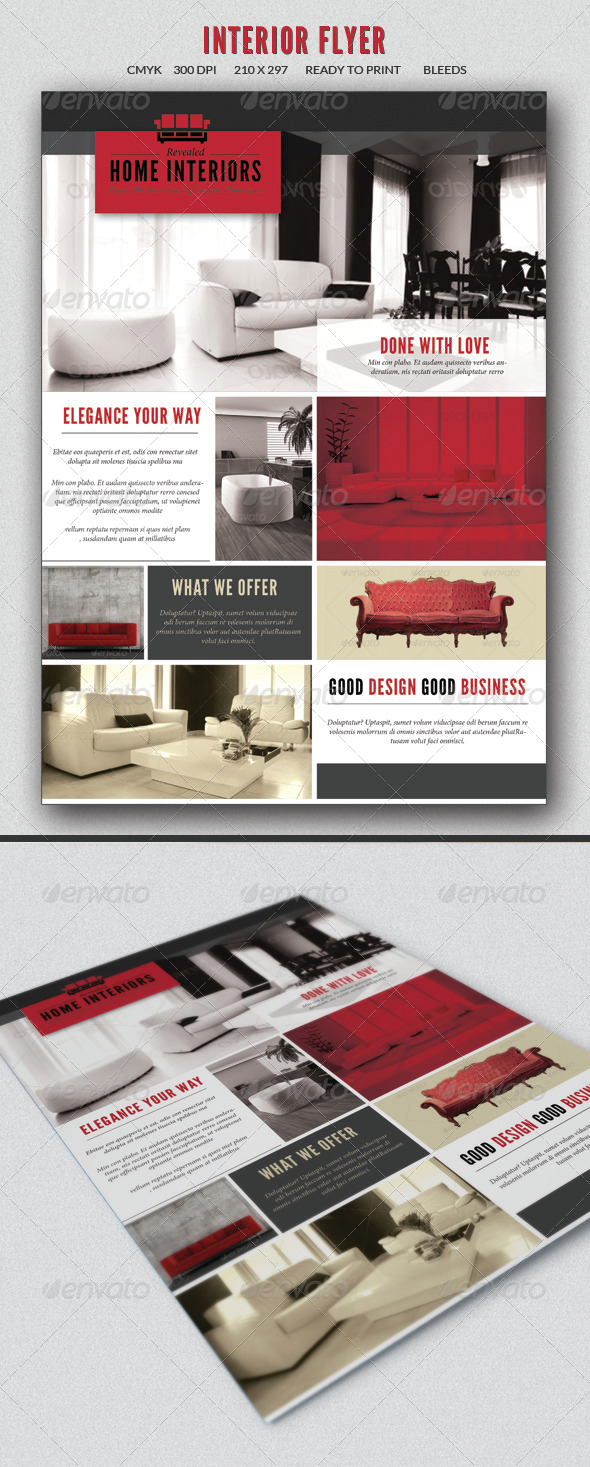 GraphicRiver Interior design flyer 7291830