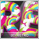 25 3D Retro Styles Vol.1 - GraphicRiver Item for Sale