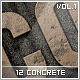 12 Concrete Styles Vol.1 - GraphicRiver Item for Sale
