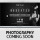 Photography - Coming Soon Site Template - ThemeForest Item for Sale
