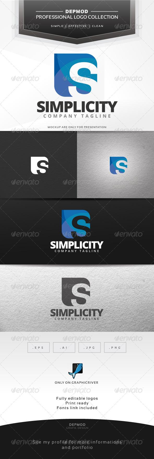 GraphicRiver Simplicity Logo 7313419