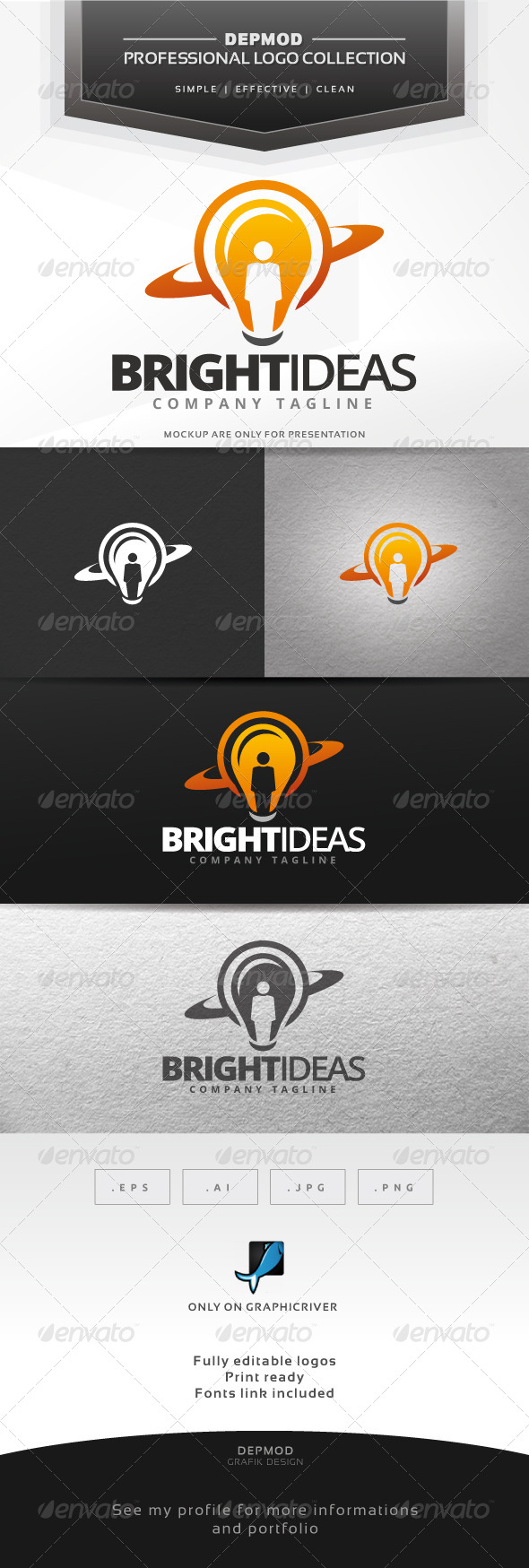 GraphicRiver Bright Ideas Logo 7313421