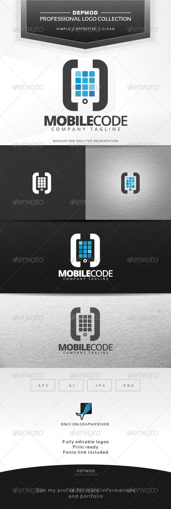 GraphicRiver Mobile Code Logo 7314155