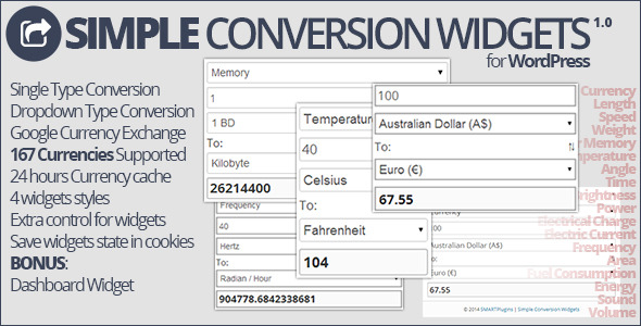CodeCanyon Simple Conversion Widgets 7314255