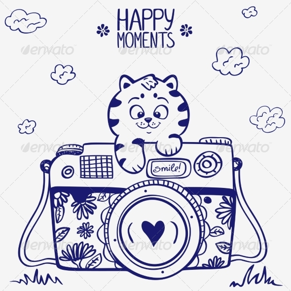GraphicRiver Camera Kitten 7314353