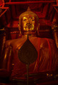 Big golden Buddha statue in Wat Panan Choeng temple, Ayutthaya - PhotoDune Item for Sale