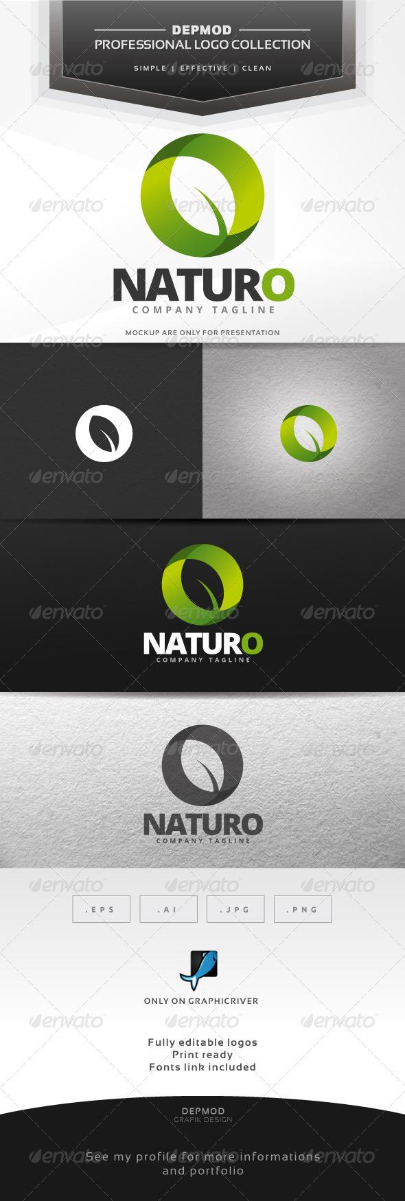 GraphicRiver Naturo Logo 7314486
