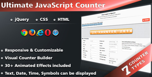 CodeCanyon Ultimate JavaScript Counter 7272745