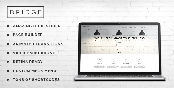 ThemeForest Bridge Creative Multi-Purpose WordPress Theme 7315054